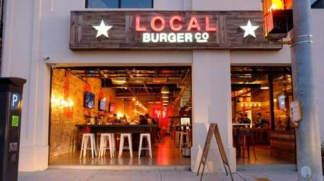 Local Burger Co. in Patchogue.