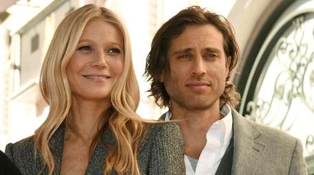 Actress-entrepreneur Gwyneth Paltrow, and her husband, writer-producer Brad