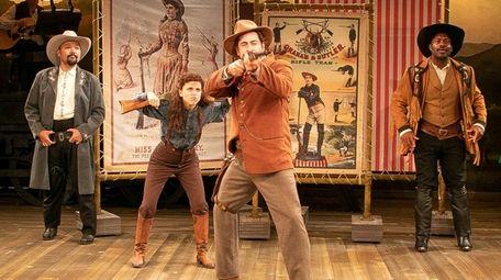 Orville Mendoza, Alexandra Socha as Annie Oakley, Matt