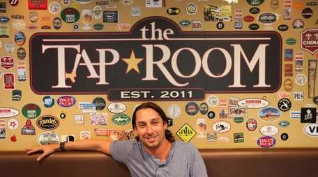 James Bonanno is owner of the Tap Room,