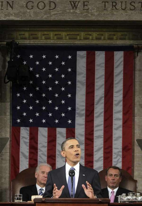President Barack Obama delivers his State of the