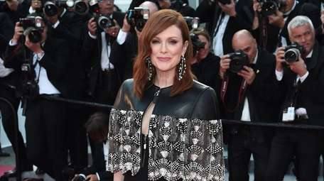 Julianne Moore worked with both her husband and