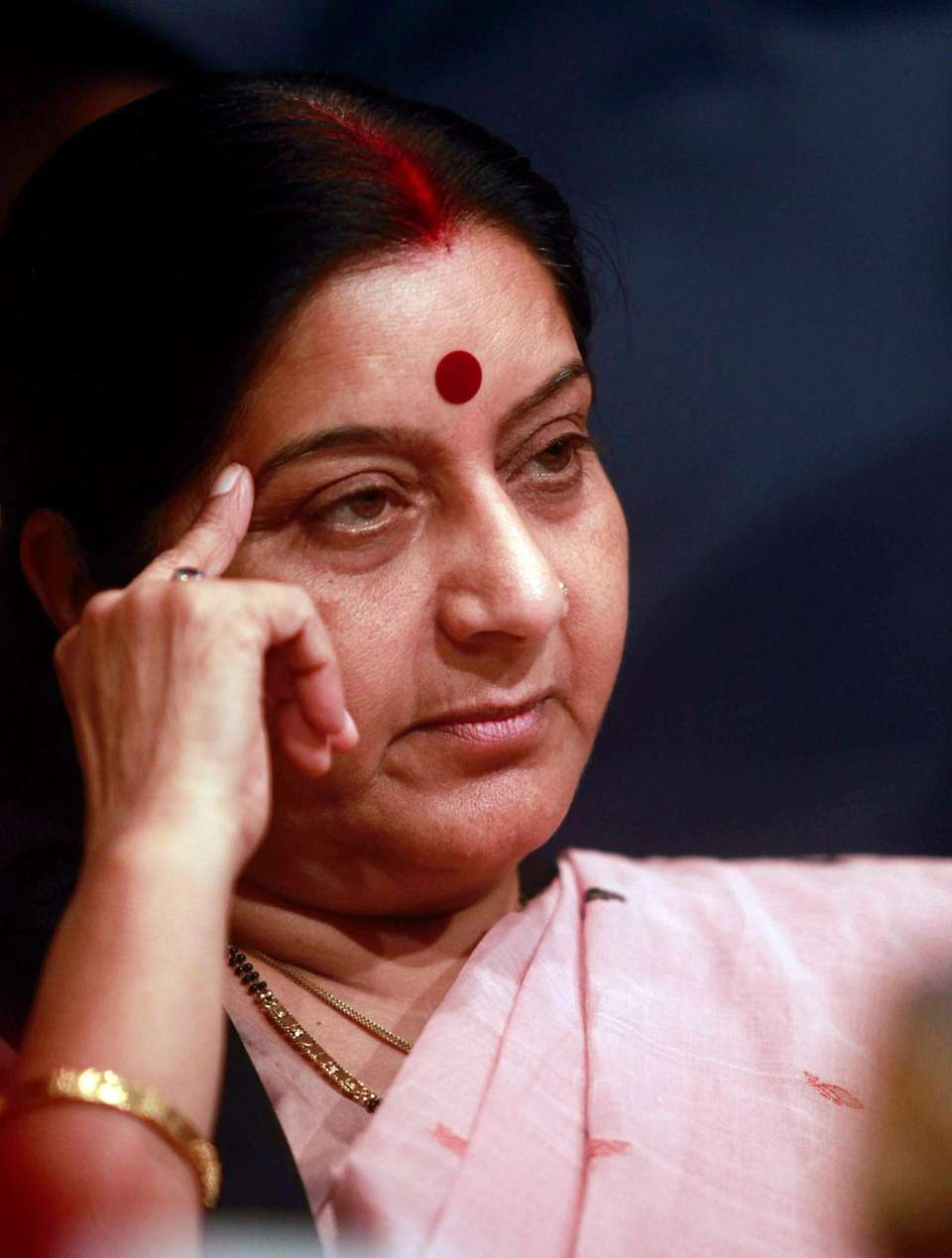 Sushma Swaraj, India's former external affairs minister and