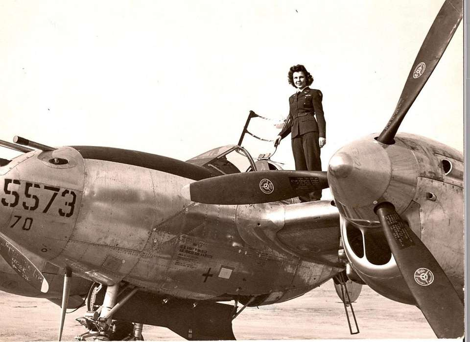 Dorothy Olsen, one of the few surviving WASPs,