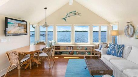 Inside the Hampton Bays home.