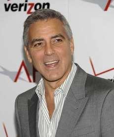 George Clooney arrives at the AFI Awards in