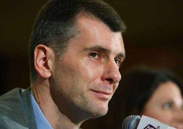 MIKHAIL PROKHOROV, Nets owner @Fake_Prokhorov Followers: 2,524 Sample
