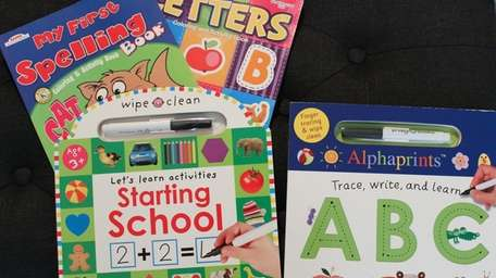 Early learning books that Miozoti Castillo uses to