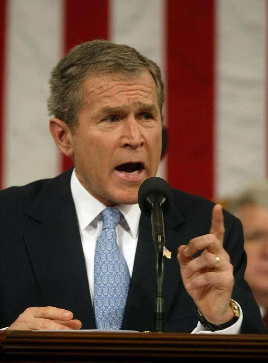 GEORGE W. BUSH, 2002 In the first State