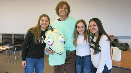 Actor and author Matthew Gray Gubler with Kidsday