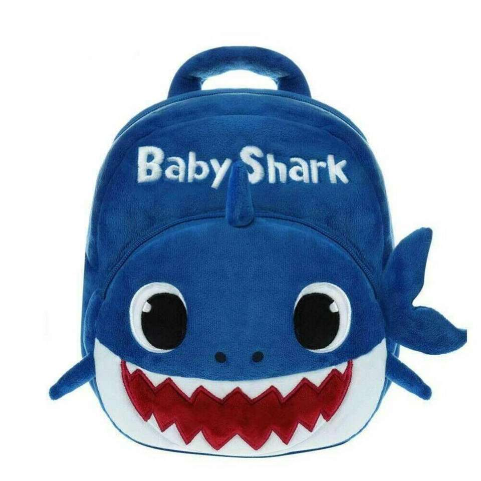 This Baby Shark backpack is lightweight with adjustable