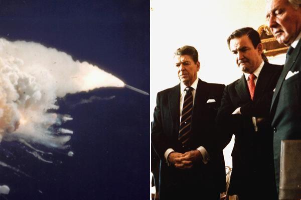 RONALD REAGAN, 1986 President Reagan was scheduled to