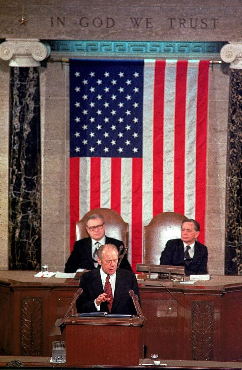 GERALD FORD, 1975 President Ford was blunt in