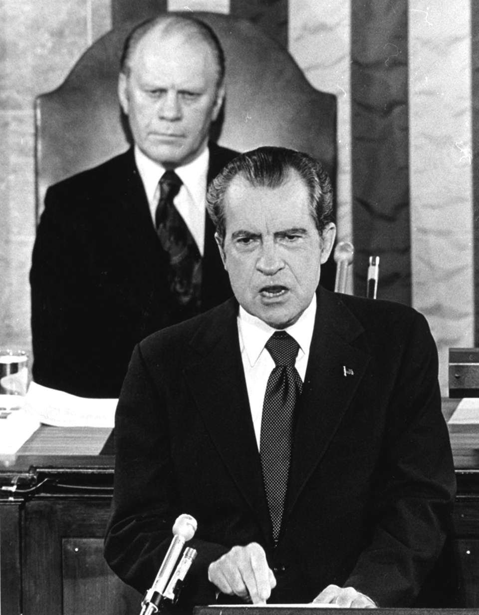RICHARD NIXON, 1974 In what would be his