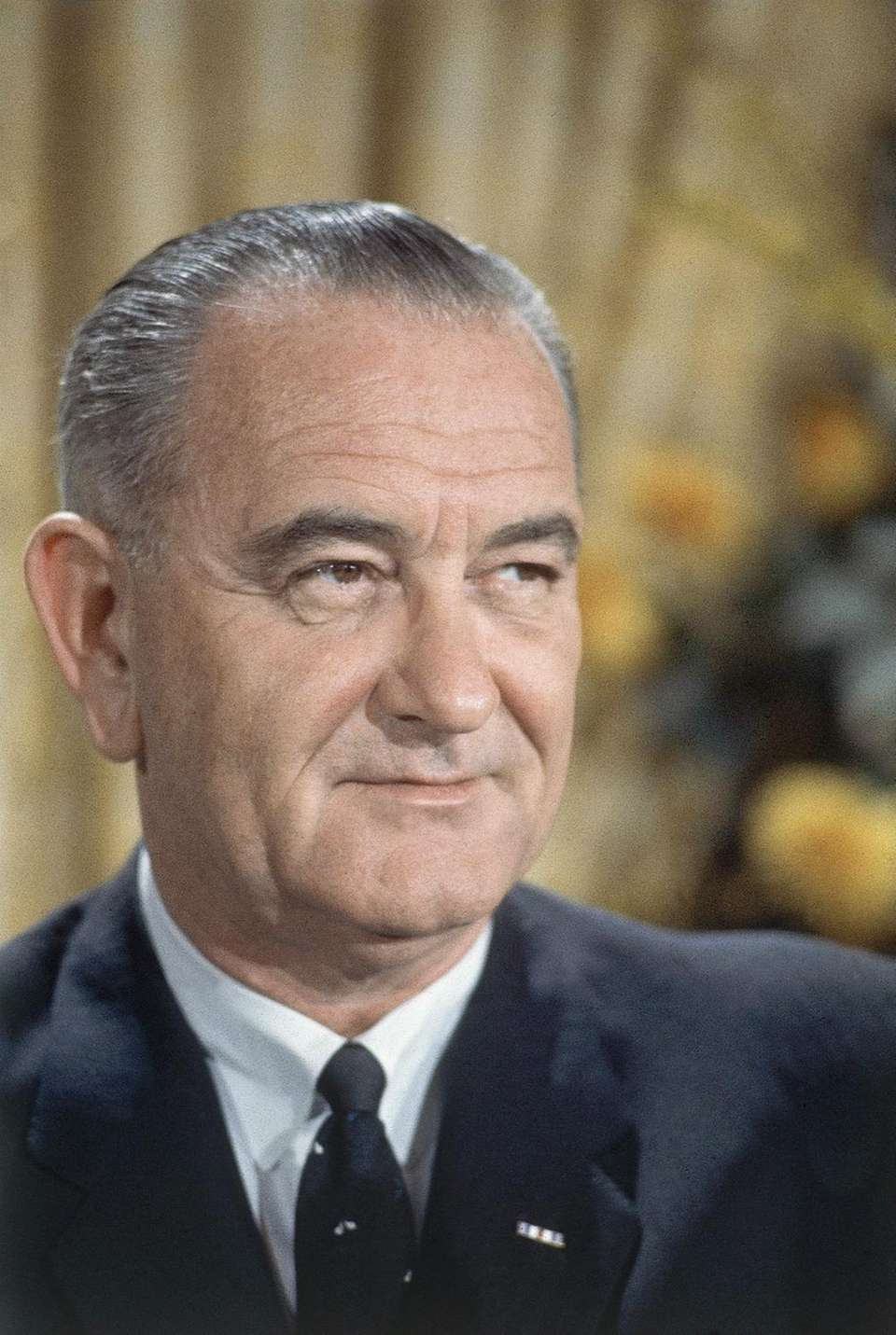 LYNDON B. JOHNSON, 1964 Seven weeks after John