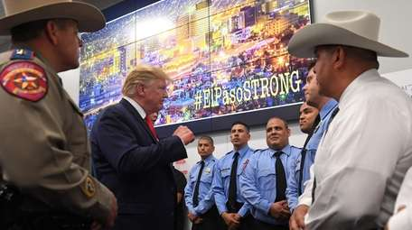President Donald Trump on Wednesday at the El