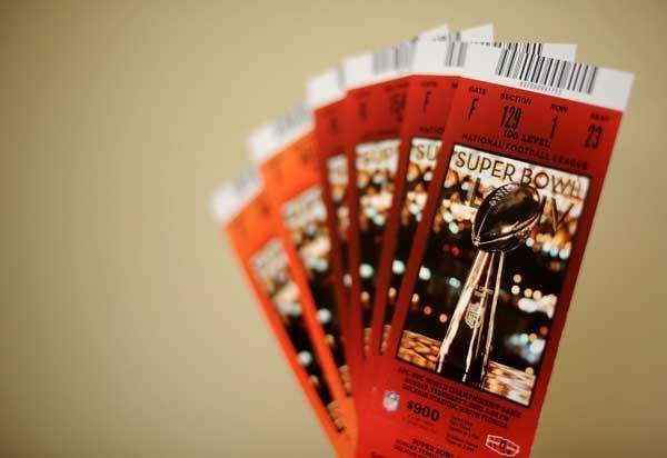 Tickets for Super Bowl XLIV