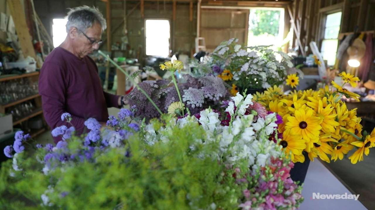What's blooming at North Fork Flower Farm? Locally