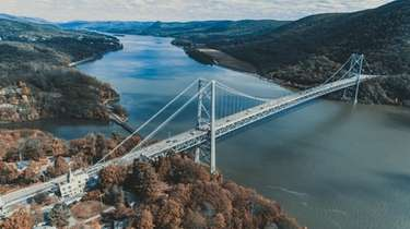 A stunning panoramic view of the Hudson Valley
