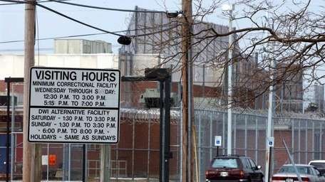 A file photo of the Yaphank jail, taken