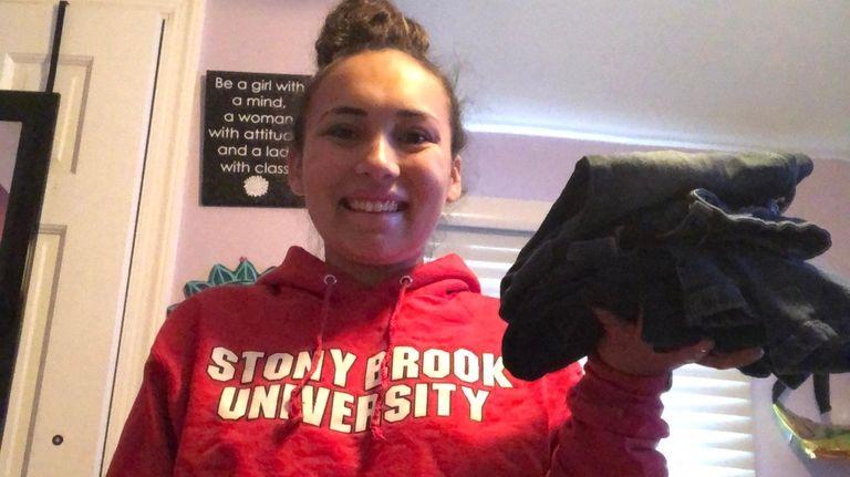 Gabby Pardo, 20, a rising junior at Stony