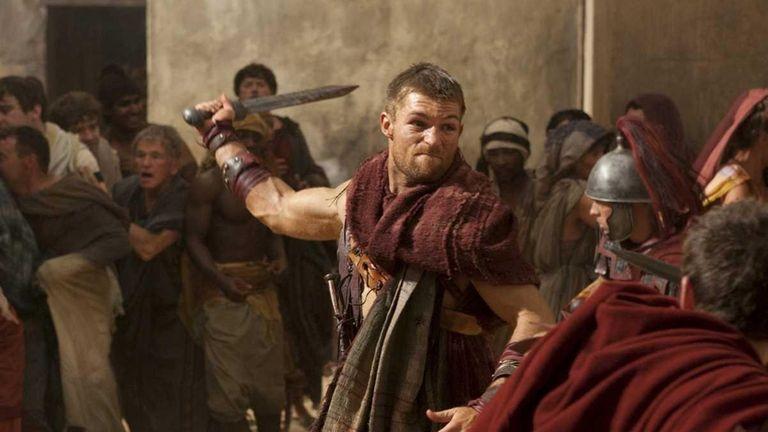 Liam McIntyre as Spartacus in Starz'