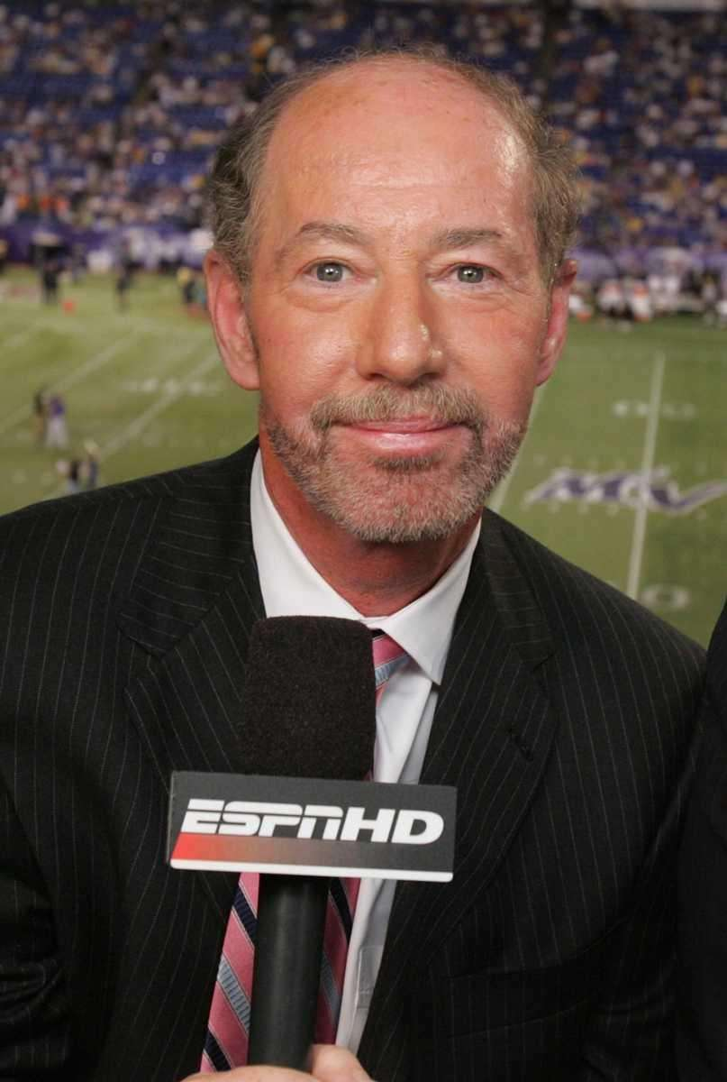 Sportswriter and radio and TV talk show host