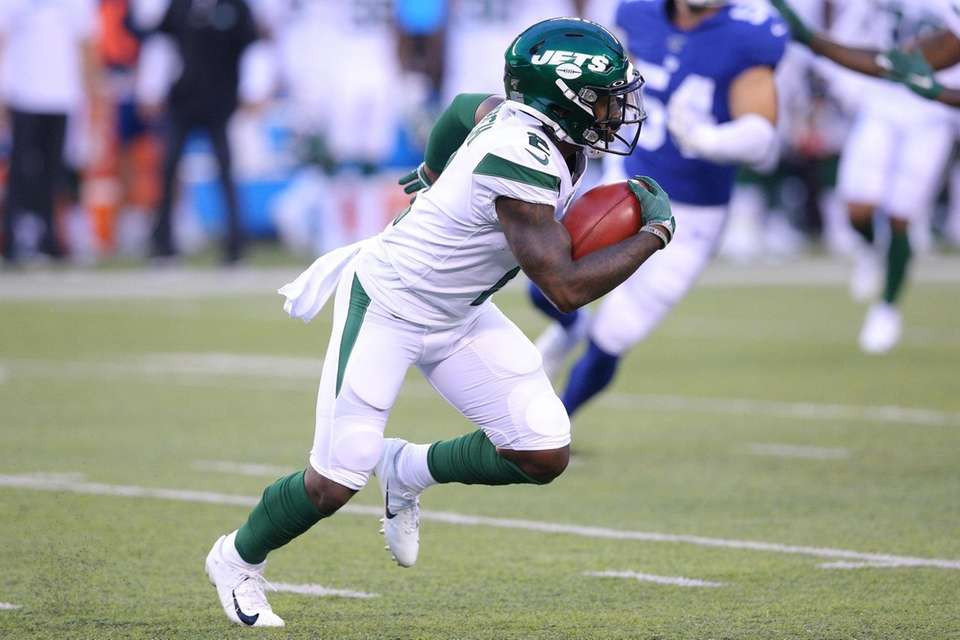 New York Jets wide receiver Greg Dortch (2)