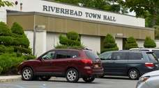 A view of Riverhead Town Hall at 200