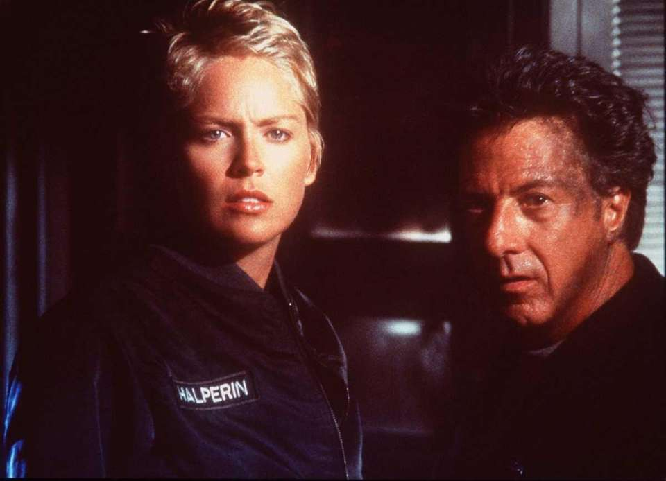 Sharon Stone, and Dustin Hoffman in