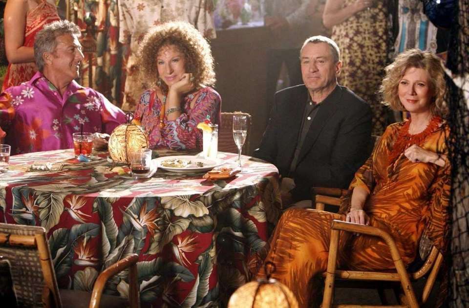 Bernie Focker (Dustin Hoffman), with his wife Roz