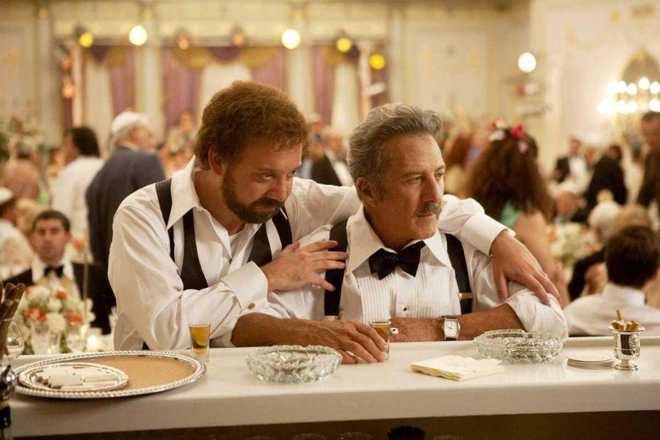 Paul Giamatti and Dustin Hoffman star in the