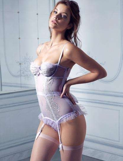 Victoria's Secret Designer Collection sheer lace corset, $298