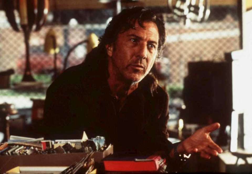 Academy Award winning actor Dustin Hoffman portrays