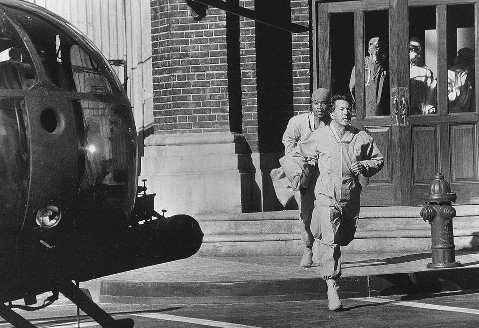 Colonel Sam Daniels, M.D., (Dustin Hoffman) and Major