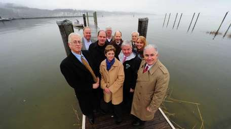 Members of the Oyster Bay/Cold Spring Harbor Protection