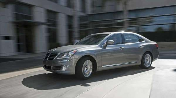 The 2012 Hyundai Equus has a 5.0-liter V-8