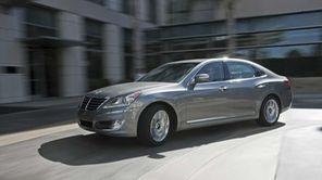 The 2012 Hyundai Equus has a 5.0-liter V-8
