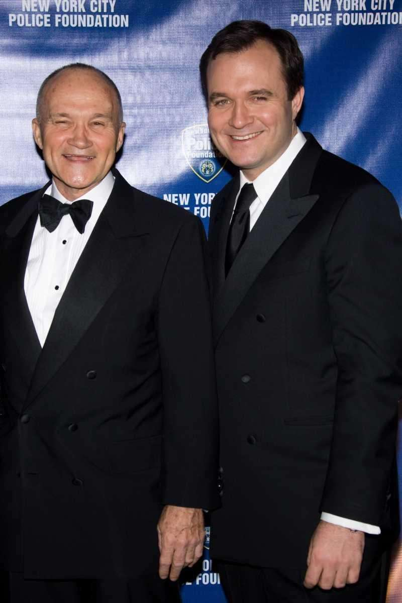 New York Police Commissioner Ray Kelly and son