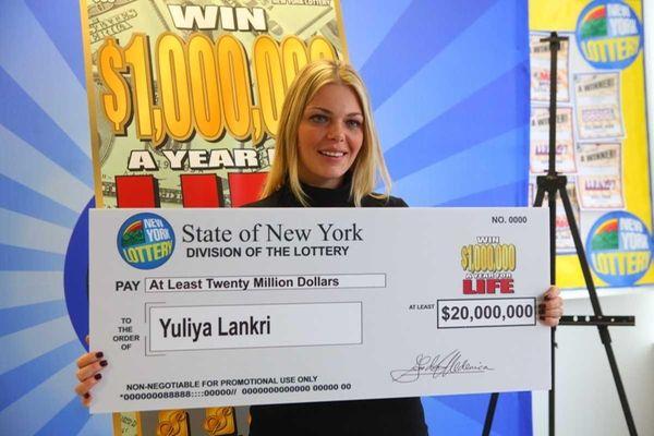 Yuliya Lankri is all smiles after she won