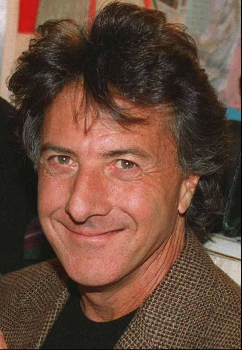 Actor Dustin Hoffman, shown in a September 1993