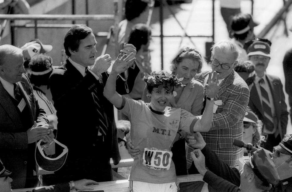 Rosie Ruiz, the Cuban American runner who infamously