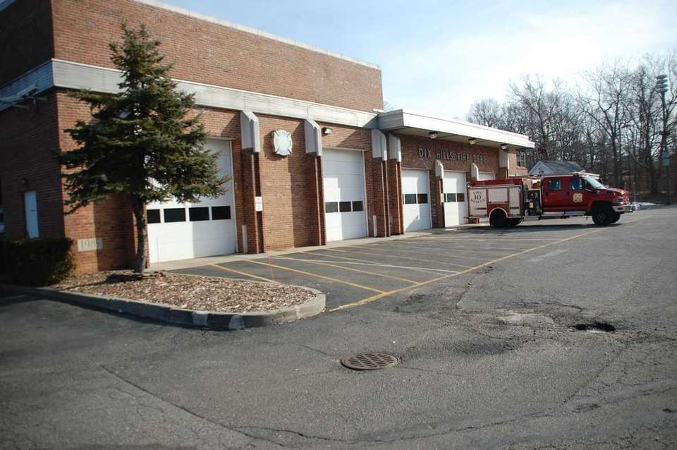 The Dix Hills Fire Department on Jan. 25,