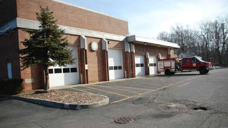 The Dix Hills Fire Department is seen on