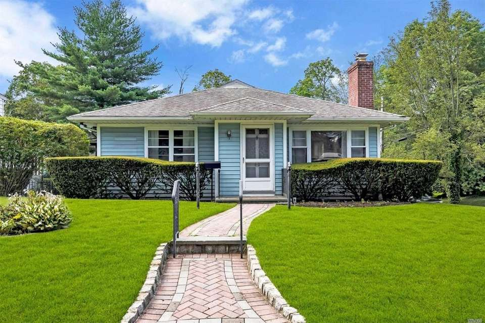 This Glen Cove ranch includes three bedrooms and