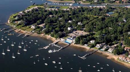 Northport Harbor, seen here on July 1, received