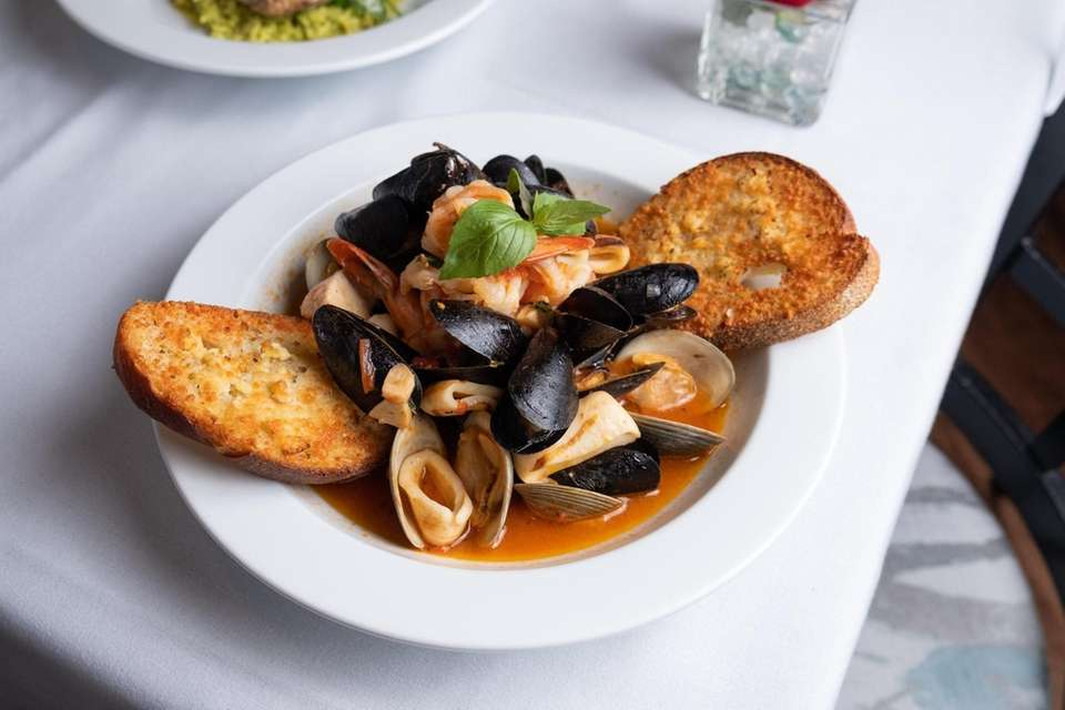 Grasso's, Cold Spring Harbor: The food is very