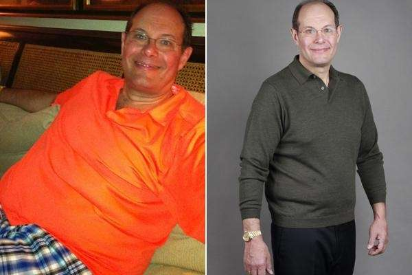 Steven Solomon lost 45 pounds in six months
