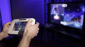 The new Wii U console is seen during