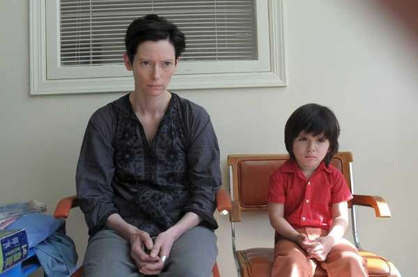 "Tilda Swinton and Rocky Duer in ""We Need"